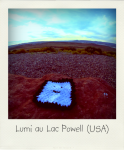 Lumi au lac Powell (USA)